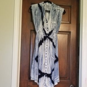 Lucky Brand tie dye dress